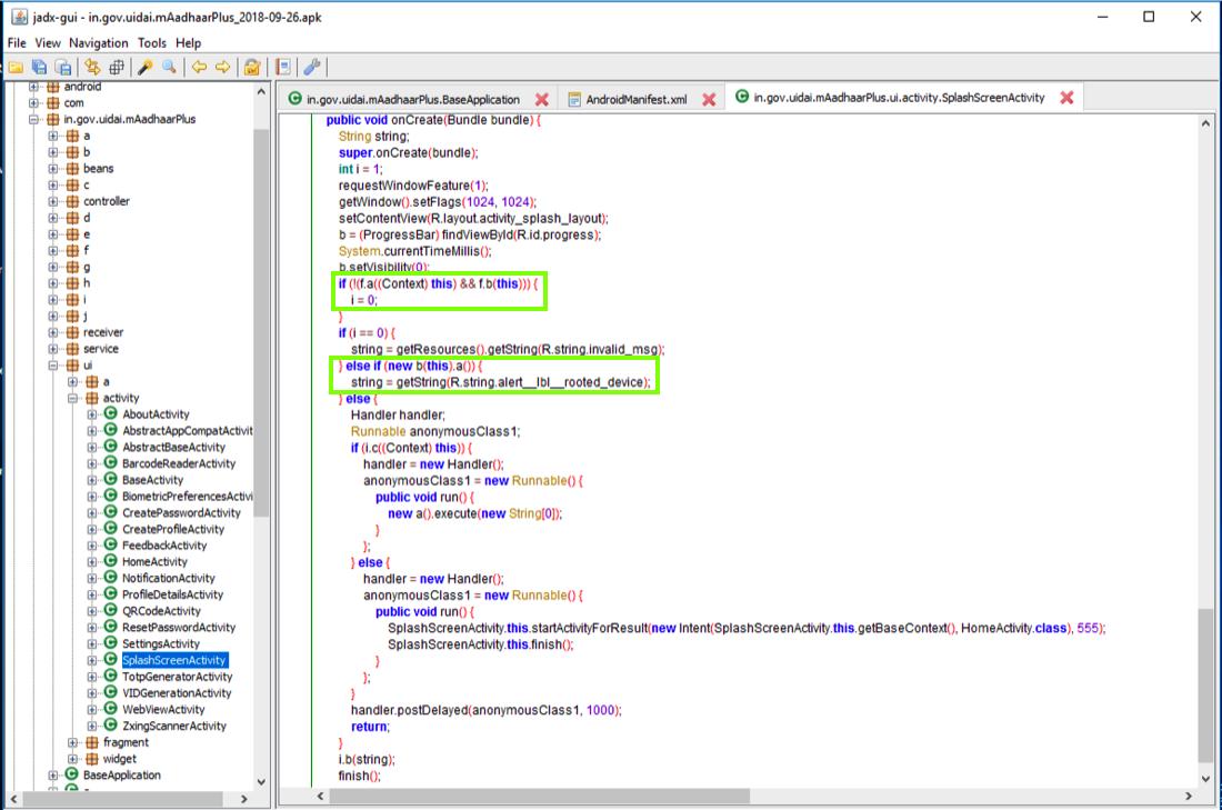 A33: mAadhaar Code Modification (15 pts)